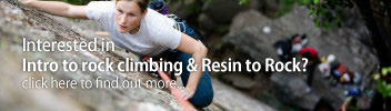 Intro to rock climbing – Resin to Rock
