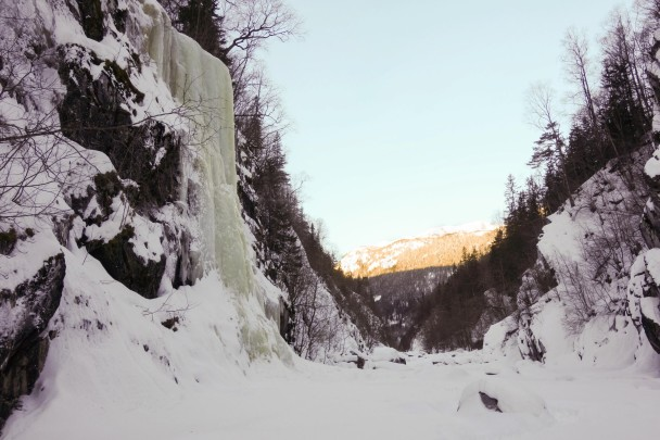 792333 399820620109000 123463834 o 608x405 Cascade ice climbing: the Lower Gorge, Rjukan, Norway