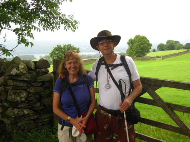 20130724 VI 001 608x456 Guided walk: Wansfell with a visually impaired couple