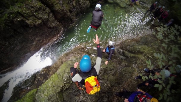 1097018 404699506308609 1502932036 o 608x342 Gorge scrambling (ghyll scrambling): lots of sessions! A catch up...