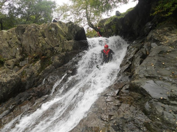 1375250 580492175345957 2066139639 n 608x456 Multi activity day: abseiling & gorge scrambling for Richards Stag