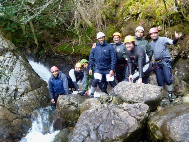 10001378 586752964749097 203827832 n 608x456 Multi activity day: abseiling & gorge scrambling with old friends