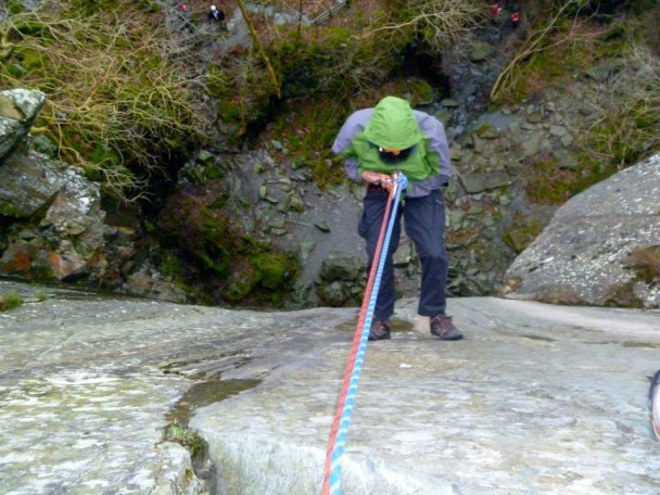 1014101 586752968082430 1049512703 n 608x456 Multi activity day: abseiling & gorge scrambling with old friends