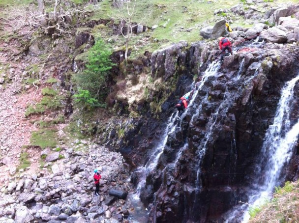 10270751 613554225402304 4280472657820496313 n 608x454 Multi activity day: gorge scrambling & climbing in Langdale
