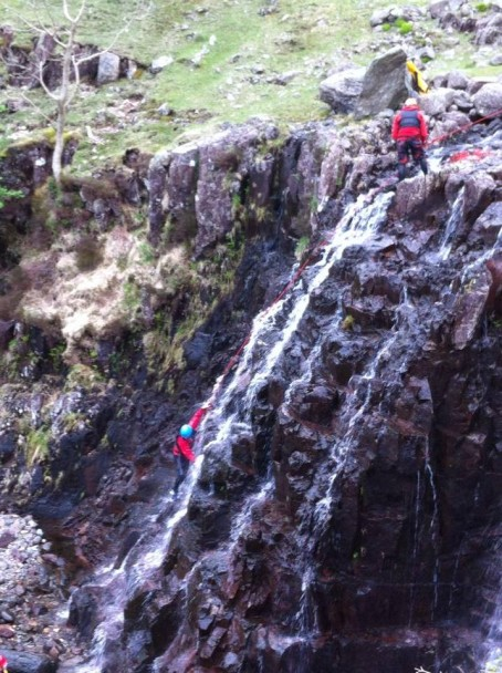 10303779 613554322068961 4192938446752261811 n 454x608 Multi activity day: gorge scrambling & climbing in Langdale