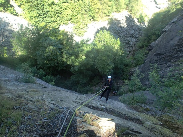 10497123 654518161305910 8277359099570029369 o 608x456 Multi activity days: abseiling, gorge scrambling & canyoning