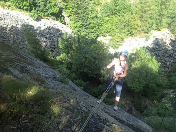 10560270 654518127972580 5764880377958475690 o 608x456 Multi activity days: abseiling, gorge scrambling & canyoning
