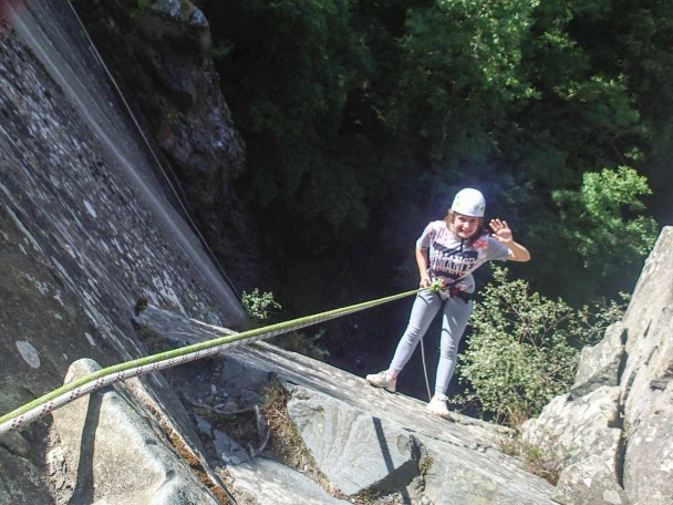 10560581 654517647972628 1760011839338616609 o 608x456 Multi activity days: abseiling, gorge scrambling & canyoning