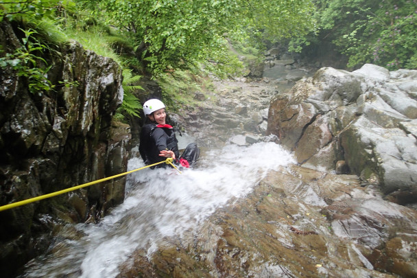 20140607 P6070161 608x405 Multi activity day: abseiling & canyoning