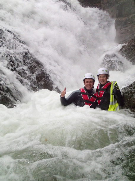 20141027 PA270013 456x608 Canyoning: high water levels!