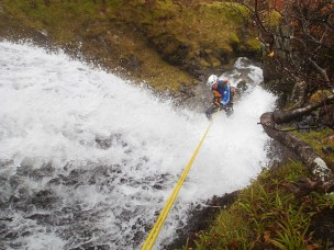20141023 PA230420 304x228 Lakeland Ascents | Canyoning   the Extreme trip